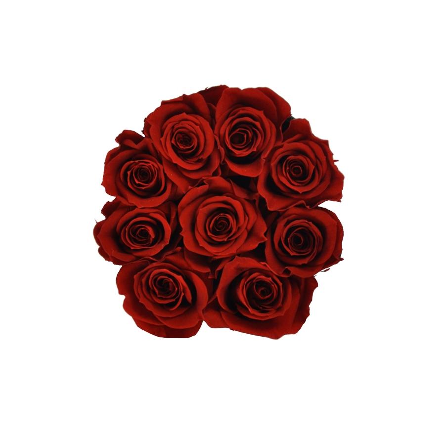 czerwone wieczne róże w rozmiarze s