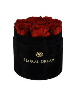 wieczne róże flower box rose n wine