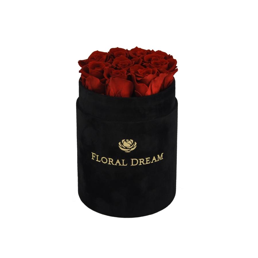 róże wieczne flower box
