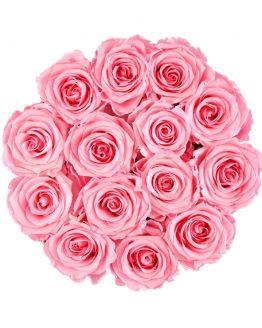 wieczne róże duży flower box
