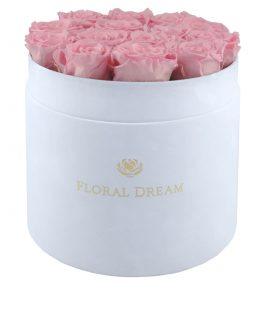 flower box wieczne róże floral dream