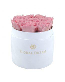wieczne róże w pudełku flower box floral dream