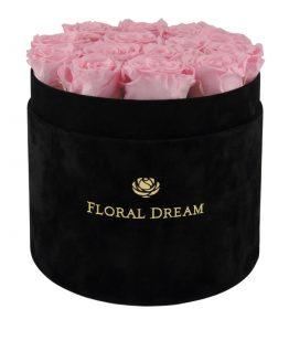 wieczne róże we flower boxie