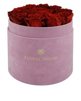 flower box grande różowy
