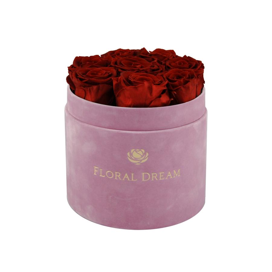 flower box rose n wine